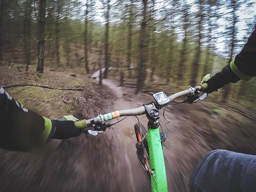 Bike Slow Motion Photo