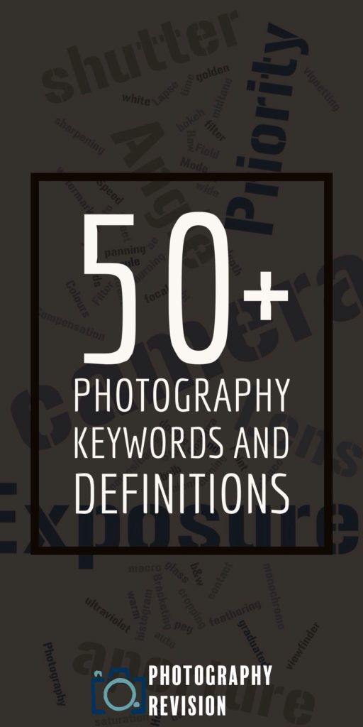 photography definitions and keywords